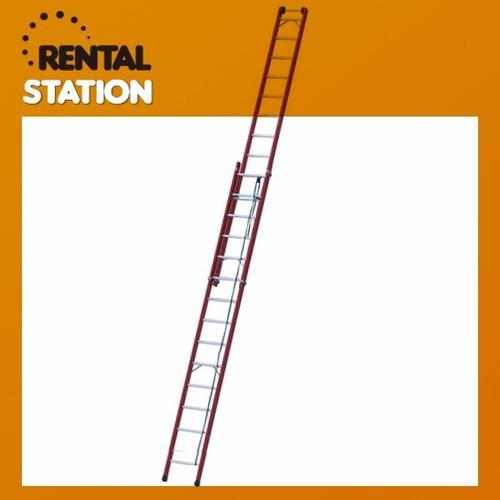 alquiler de escalera extensible incluye arnés y cabo de vida