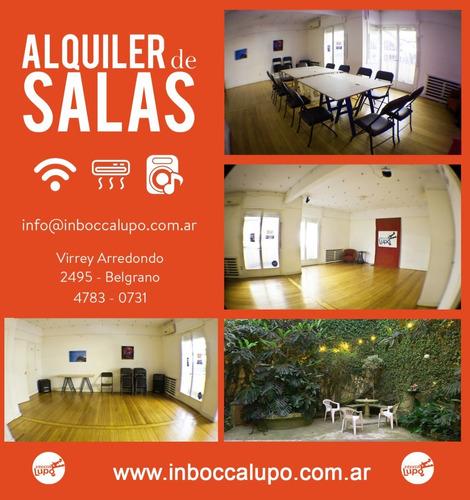 alquiler de espacio/ salón / aula/ coffeebreak