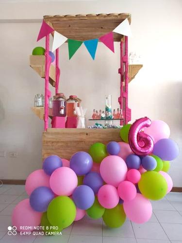 alquiler de estaciones y mobiliario para tus fiestas