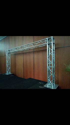 alquiler de estructuras truss para tus eventos