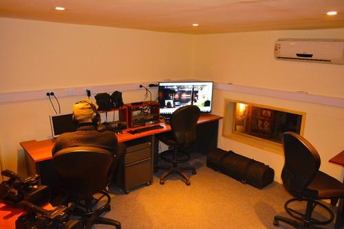 alquiler de estudio de filmación - radio y tv - equipamiento