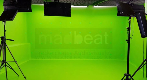 alquiler de estudio filmacion croma key verde video belgrano