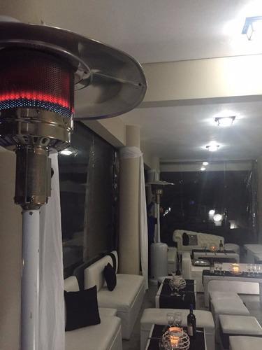 alquiler de estufa calefactor tipo hongo