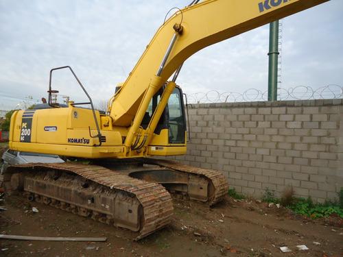 alquiler de excavadoras,zanjeos,desagote de campos,lagunas