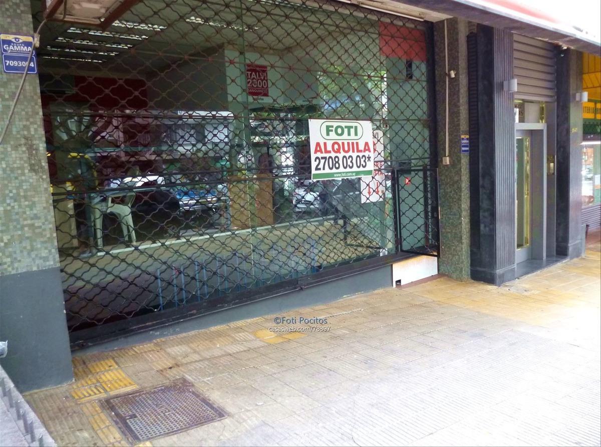 alquiler de excelente local comercial sobre av. brasil