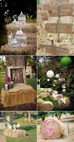 alquiler de fardos para eventos o decoracion  en zona pilar
