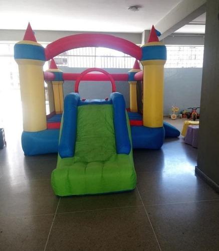 alquiler de festejo colchón inflable cama elástica y sonido