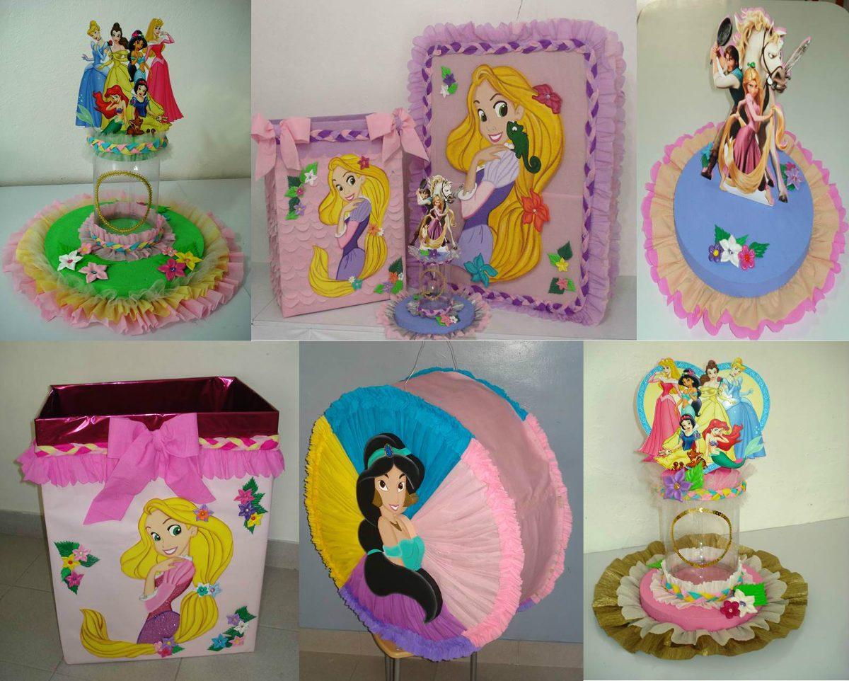 Alquiler de figuras mdf y decoraci n princesas disney en - Mesas infantiles disney ...