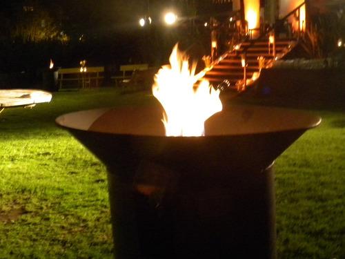 alquiler de fogones a bioetanol para eventos