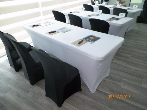 alquiler de forros para silla sencillos y spandex