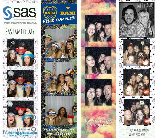 alquiler de foto cabina photo booth
