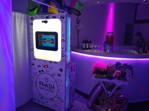 alquiler de fotocabina - cabina fotografica - photobooth