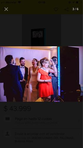 alquiler de fotocabina photobooth para fiestas y eventos