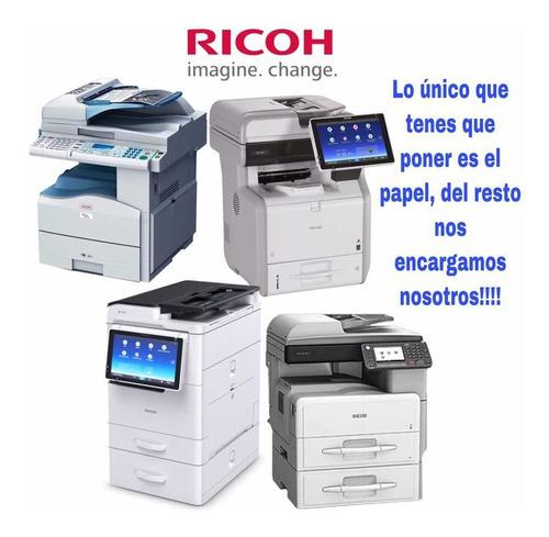 alquiler de fotocopiadora / equipos multifuncion / impresora
