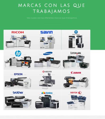 alquiler de fotocopiadoras en avellaneda quilmes berazategui