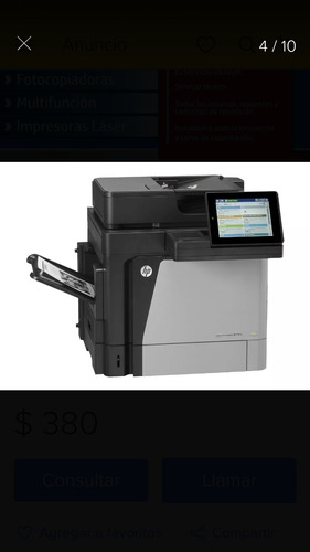 alquiler de fotocopiadoras impresoras multifuncion laser b&n