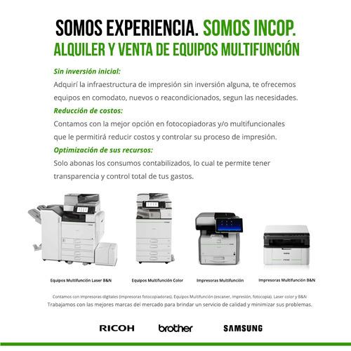 alquiler de fotocopiadoras, multifuncion e impresora