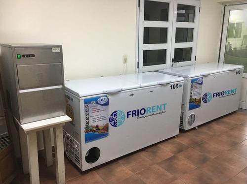 alquiler de freezer, freezer para eventos, heladeras