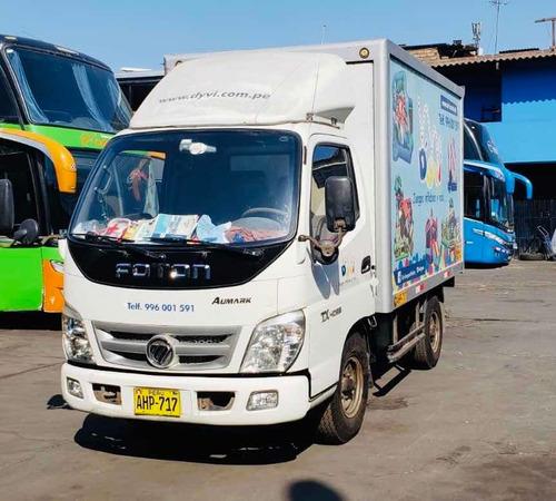 alquiler de furgón fotón 2.0 toneladas s/110 diario