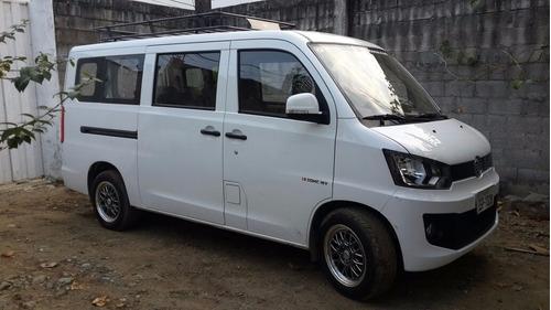 alquiler de furgoneta faw 11 pasajeros con o sin chofer tur