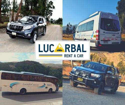 alquiler de furgonetas y buses en pasco