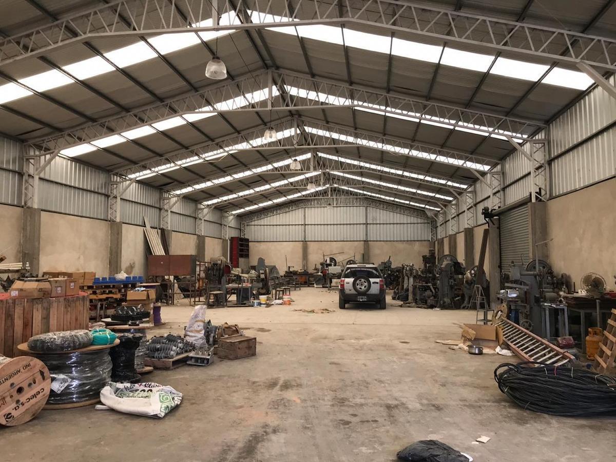 alquiler de galpon en guernica, en parque industrial cerrado
