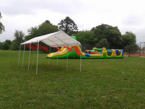 alquiler de gazebo carpa 3x6 mts para fiesta evento techo