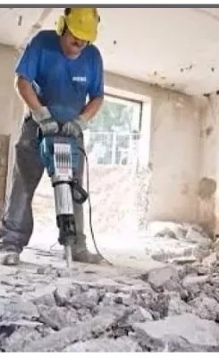 alquiler de generadores y martillo demoledor