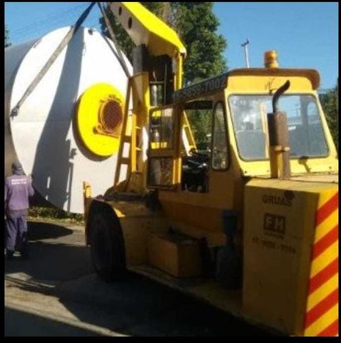 alquiler de grúa cranemobile 7.5 tns.(opción. plumín)