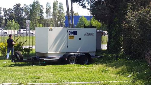 alquiler de grupo electrogeno ferrari power systems