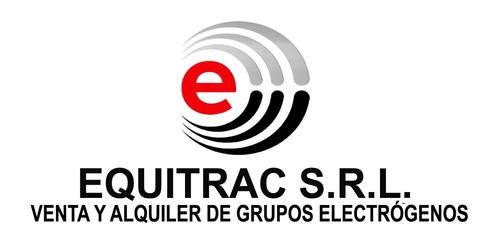 alquiler de grupos electrógenos - equitrac srl