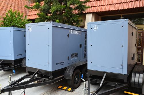 alquiler de grupos electrogenos generadores de 65 y 150 kva
