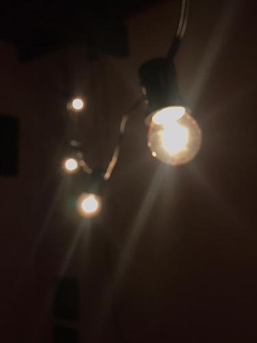 alquiler de guirnalda de luces focos cálidos