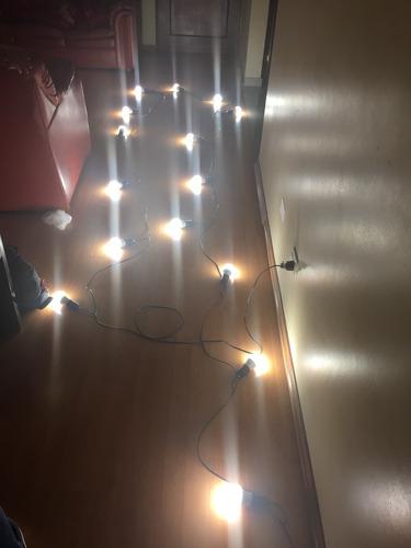 alquiler de guirnaldas de luces amarillas led