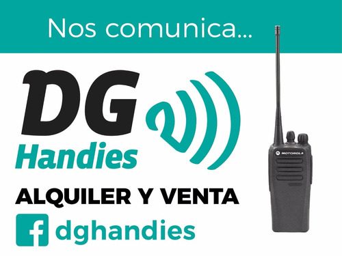 alquiler de handies para eventos, shows, recitales