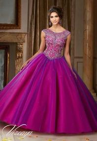 Alquiler De Hermoso Vestido Quinceañera Importado De Miami