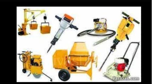 alquiler de herramientas de construcción