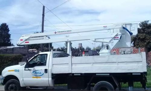 alquiler de hidroelevadores y camiones con grúa
