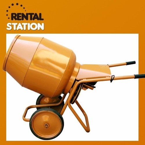 alquiler de hormigoneras mezcladoras hormigón rental station
