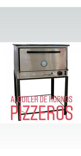alquiler de horno pizzero