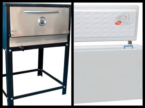 alquiler de horno pizzero ,freezer  .mesas,sillas. pancheras