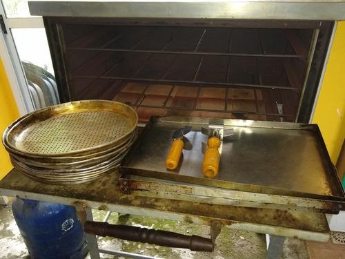 alquiler de horno pizzero!!6moldes!!zona norte!!