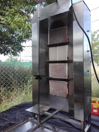 alquiler de horno shawarma a gas