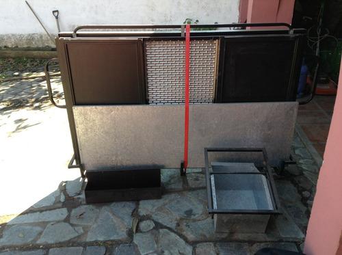 alquiler de hornos pizzeros- barras móviles- discos de arado