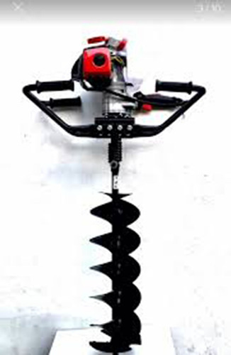 alquiler de hoyadora manual con motor a explosión 2t