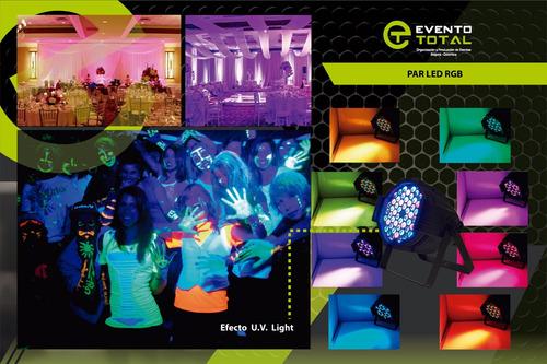alquiler de iluminación para conciertos