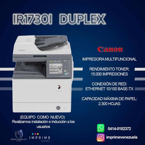 alquiler de impresoras fotocopiadoras multifuncionales canon