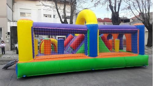 alquiler de inflable, metegol, tejo ,plaza blanda y pelotero