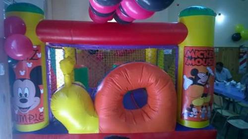 alquiler de inflable metegol tejo sapo plaza blanda zona sur