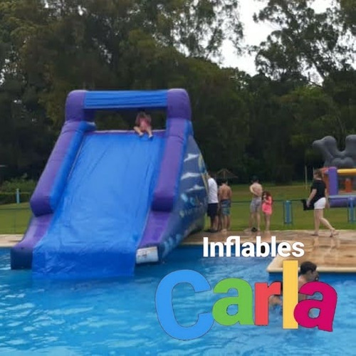 alquiler de inflables acuaticos chicos personajes zona sur